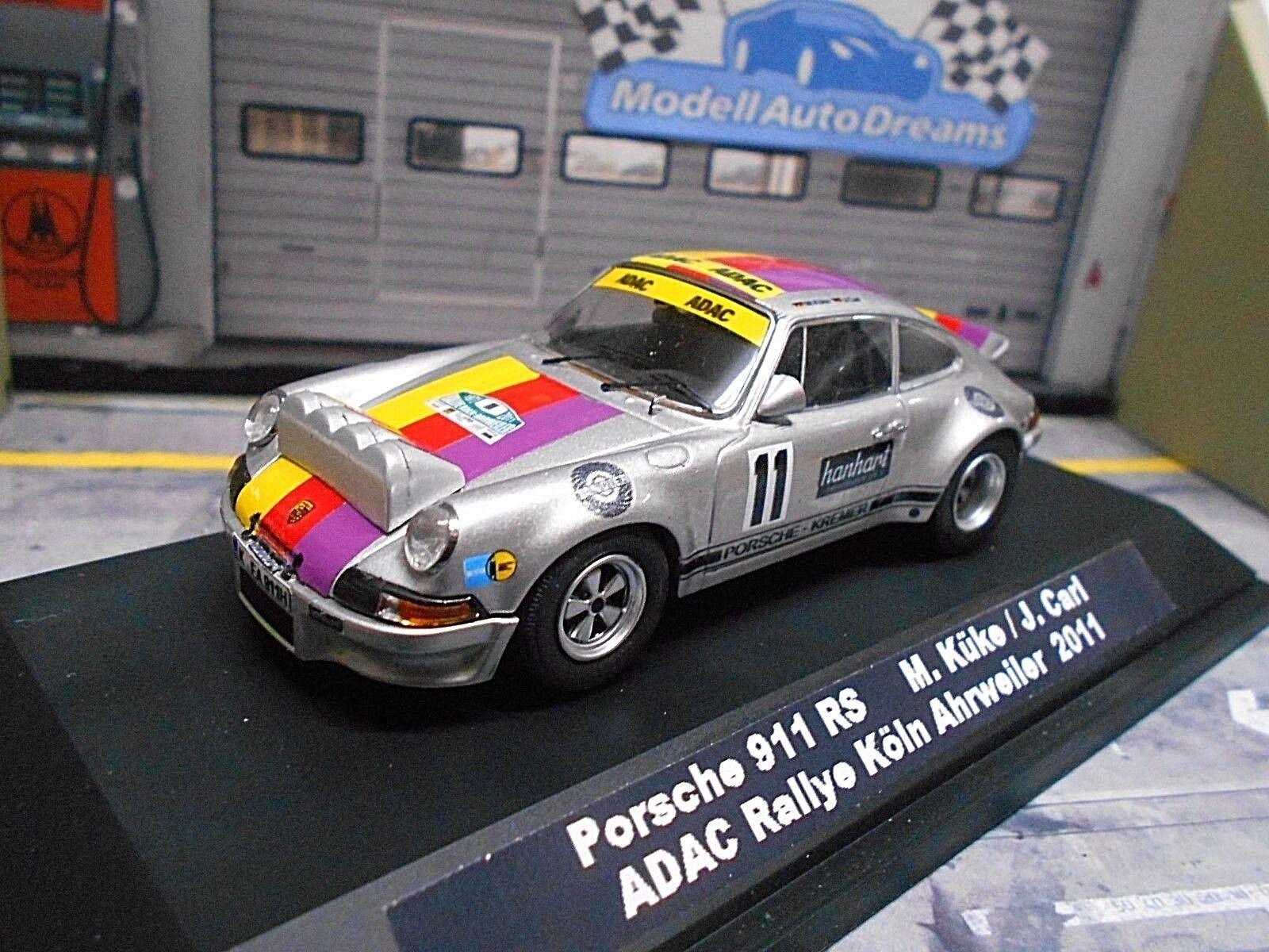 PORSCHE 911 Carrera RS Rallye Köln Ahrweiler  11 Küke Kremer Historik UMBAU 1 43  | Heißer Verkauf