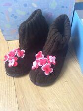 Mod8 Girls Slippers Wmouna Marron Size 30 Uk 12