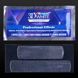5 1 Pair Bag Dental Crest 3d White Luxe Whitestrips Teeth
