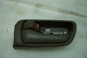 2004 04 Toyota Camry Left Rear Dark Tan Interior Door Handle Lock Switch B-38 D