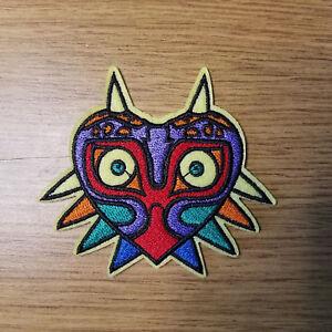 Leyenda-de-Zelda-Mascara-Parche-Bordado-8-9cm-Ancho