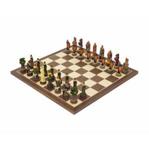 Le jeu d'échecs sur le thème peint à la main Robin Hood de Italfama