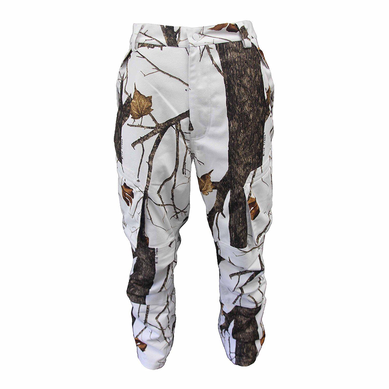 NEW Wildfowler Men's Waterproof Power Pants Pants, Wildtree Snow, 2X-Large