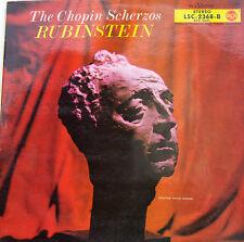 """ARTUR RUBINSTEIN THE CHOPIN SCHERZOS LIVING STEREO 12"""" LP (c501)"""