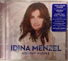Idina Menzel - Holiday Wishes [CD New] Sealed 'Frozen' Star w/ Michael Buble