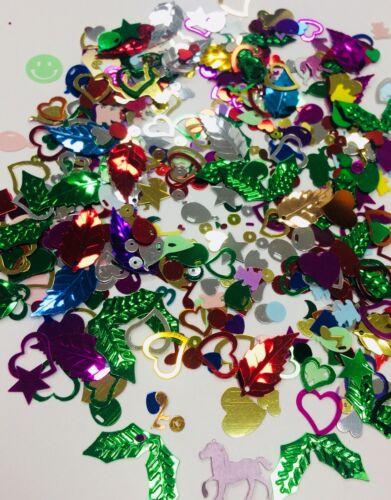 Saupoudrer métallique forme Craft Confettis Variety Pack Mix Design Décoration de Table