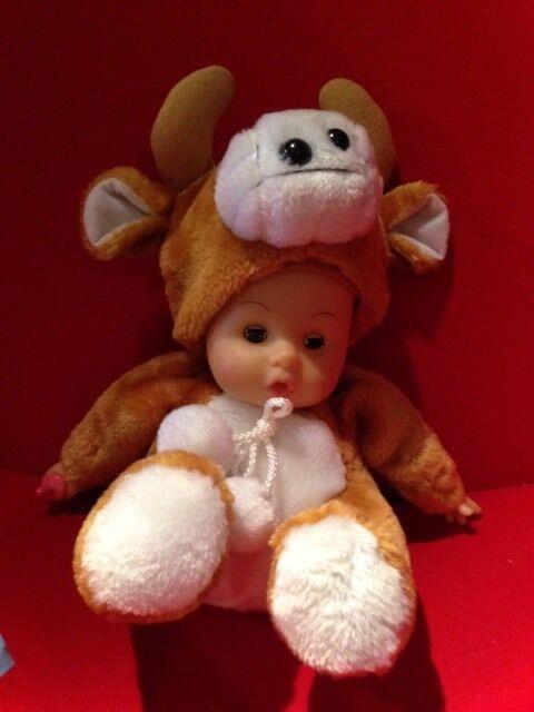 Selten Puppe Kuh Verkleiden Plüsch Tier