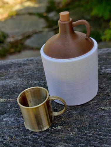 Custom 1:6 whisky carafe de guerre civile occidentale et d/'autres époques