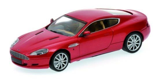 Minichamps 400137340 Aston Martin DB9 2009 in rotmetallic 1:43 NEU & OVP