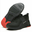 UK Mens Steel Toe boots Work Breathable Sports Safety Shoes Trainers Lightweight