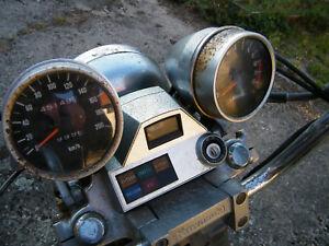 Kawasaki-EN-450-A-454-LTD-Cockpit-Tacho-Armaturen-Speedometer