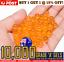 7-8mm-Gel-Balls-Blaster-Ammo-Orange-Extra-Hard-Gel-Ball-Ammo-7-8mm-Gels-JM-M4A1 thumbnail 1