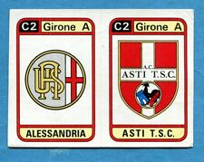 CALCIATORI PANINI 1983-84 Figurina-Sticker n. 551 -ALESSANDRIA#ASTI SCUDETTO-New
