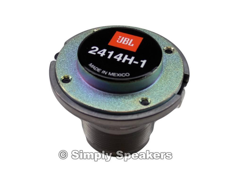 JBL Eon 612 Lautsprecher Horn Treiber Ersatz 2414H-1 Fabrik Teil  363858-001X