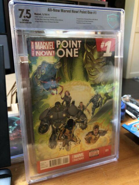 All-New Marvel Now: Point One #1 (2014) Marvel Comics CGC 7.5 1st Kamala Khan