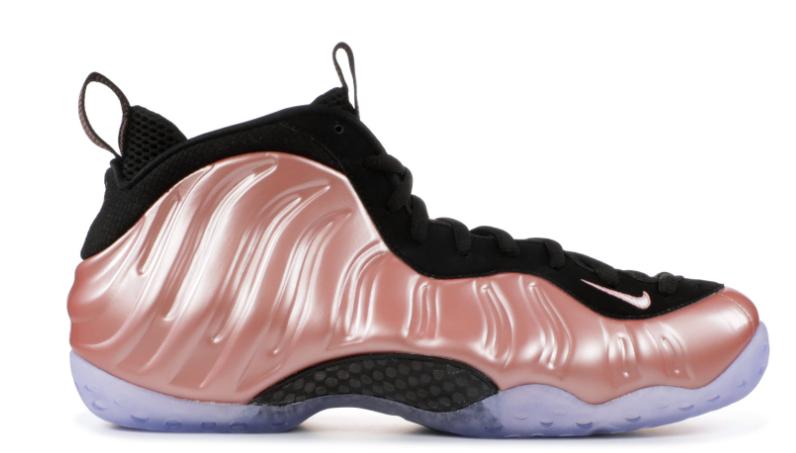Nike Air Foamposite One One One Pink Rust Elemental pink Black GS Foams 81fc4c