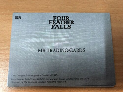 2018 Four Feathers Falls Proof Dealer Promo Card MBP1 Unstoppable Cards Only 6