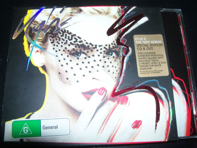 Kylie Minogue Aussice CD DVD PAL X (special Edition)