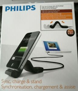 NEW-PHILIPS-30pin-dock-Sync-Charge-amp-Stand-FlexAdapt-for-iPad-iPhone-USB