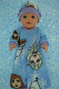 Play-n-Wear-Dolls-Clothes-To-Fit-17-034-Baby-Born-POLAR-FLEECE-SLEEPING-BAG-HAT