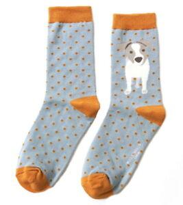 Ladies Puppy /& Dog Design Socks Novelty Bamboo Cotton Blend 4-7