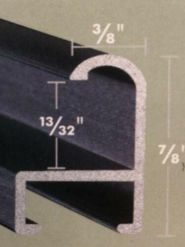 Custom Cut Picture Frame Sectional Metal Nielsen 05-30 Sterling Brush