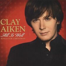 All is Well: Songs for Christmas [WalMart Exclusive] by Clay Aiken (CD-2006) NEW