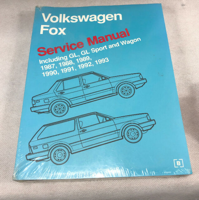 Volkswagen Fox Service Manual 87