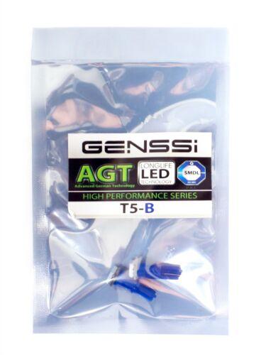 5050 SMD LED Blue Instrument Panel Dash Light Bulb 74 17 18 37 70 2721 10 x T5