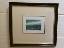 Annette Johnson Signed Etching. Night Sail. Limited Edition