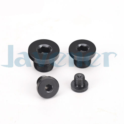 M16-M60 Male Carbon Steel End Plug Cap With Flange Hex Socket Hydraulic