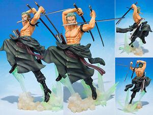 Figuarts ZERO One Piece Roronoa Zoro Gokutora Hunt Hunting Figure Figurine NoBox
