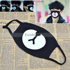 New Unisex Men Women Cycling Anti-Dust Cotton Mouth Face Mask Respirator Black