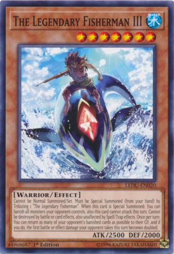 M//N x3 The Legendary Fisherman III Common 1st Edition Yu-Gi-Oh LEDU-EN020