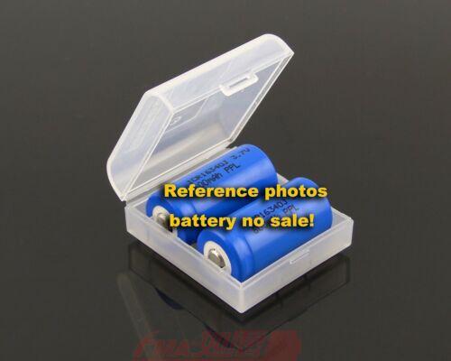 Battery Plastic Case Storage Box Avoid short-circuit for 1-2 18650 16340 cells