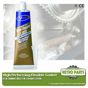 Timing Belt / Chain Cover Pro Flexible Gasket  For Peugeot. Seal Fix DIY