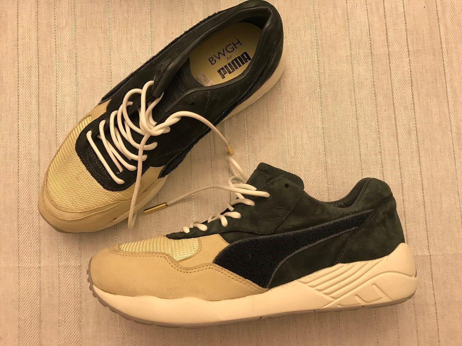 PUMA x BWGH TRINOMIC by PUMA - Slate - PUMA Dark Shadow - Sneakers size 9 extra laces ! bc8181