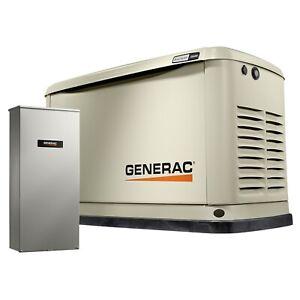 Generac 7039 - 20/18kW A/C Home Standby Generator w/ WiFi...