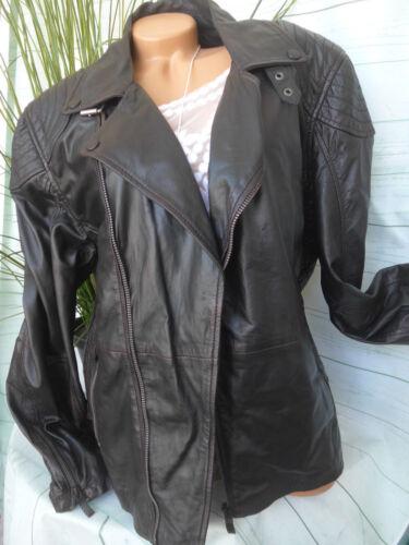 173 Jacket 3xl Leather nouveau Veste Biker Absurd noir Gr Tq8awWH