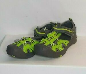 Merrell Hydro H2O Boys Sandals Green Grey Outdoor Water Shoes Size 7 M |  eBay