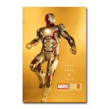 Iron Man Blueprint Superheroes Movie Silk Poster 13x24 24x43 inches 001