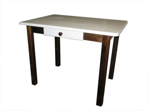 NEUF Table pin table avec tiroir massif table de cuisine!!