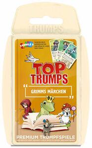 Top-Trumps-Grimms-Maerchen-Quartettspiel-Kartenspiel-Quartett-Karten-Spiel