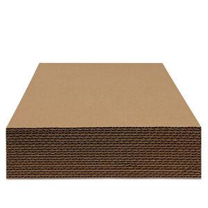 25 St. Schallplatten Versand Füllplatten, Wellpappe, 315x315 mm, 3 mm Stark