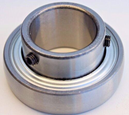"Premium SB206-20 Insert Bearing 1-1//4/"" Bore w// Set Screw /& Chevron Grease"
