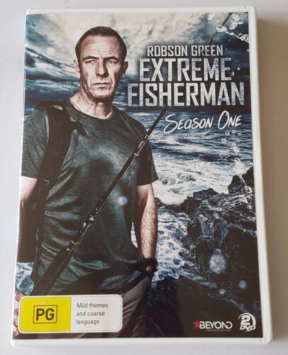 1 of 1 - Robson Green - Extreme Fisherman : Season 1 DVD, 2015, 2-Disc Set (#DVD01523)