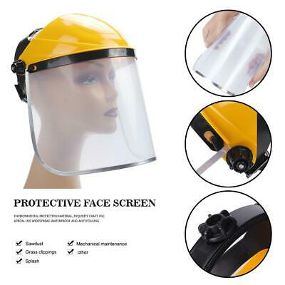 Clear Safety Face Mask Shield Safety Eye Protection Face Cover Visor