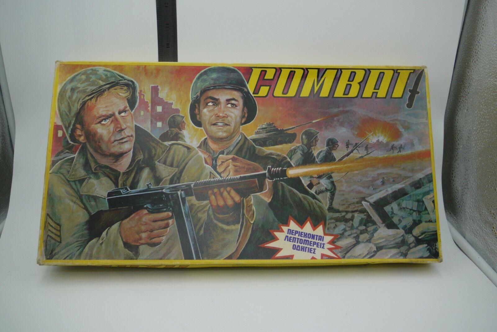 VINTAGE 80'S COMBAT  MAXH GREEK tavola gioco ADELKO giocattoli UNPUNCHED  scelta migliore