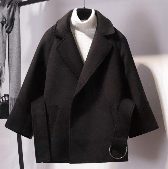 Women/'s Autumn Winter Hairy Warm Short Thicken Coat Jacket Slim Outwear Coats