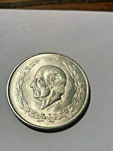 1952 Mexico 5 Pesos Silver BU #20011